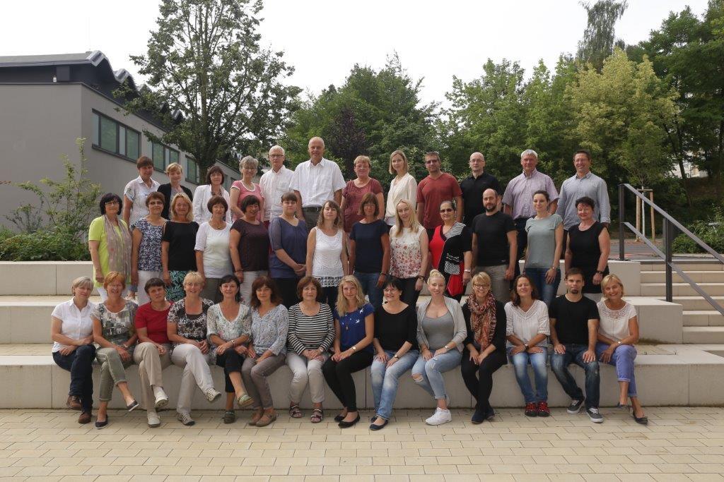 Das Lehrerkollegium 2016